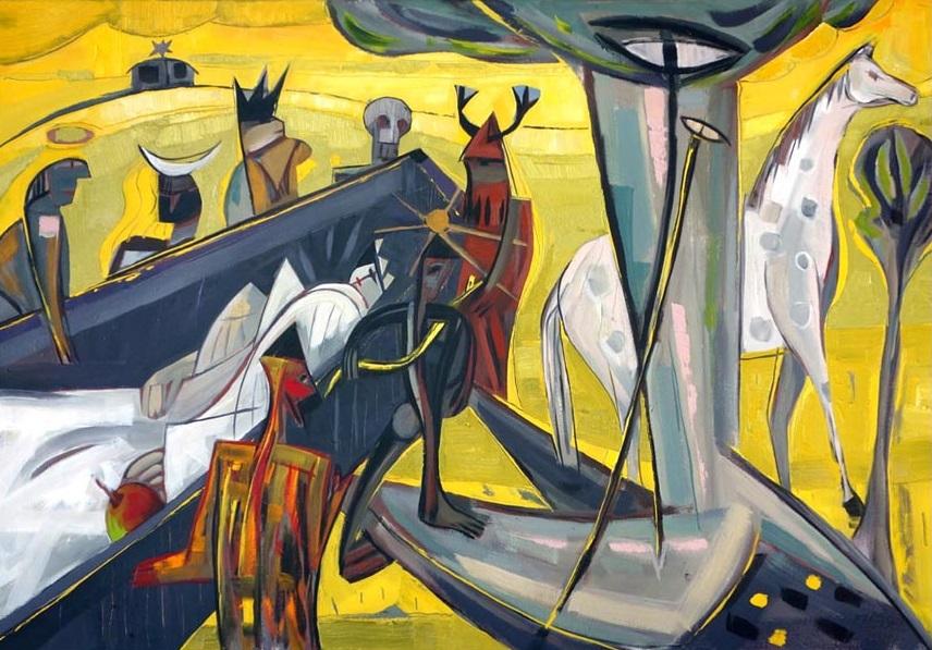 Musik zur Vernissage: Eckart Meisel @ Akanthus Galerie, Westwerk